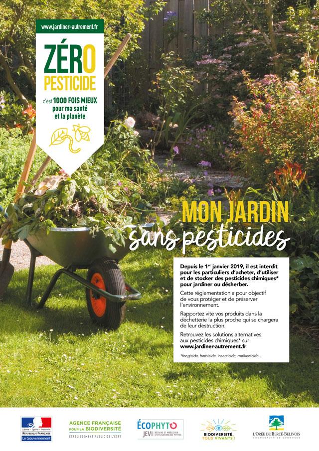 Loi Labbé : votre jardin sans pesticides